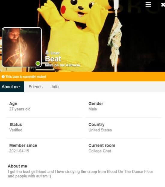 Chat-Avenue profile
