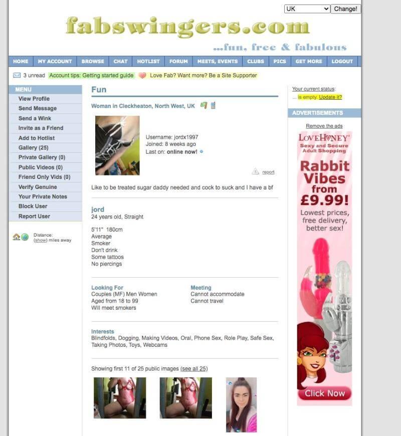 FabSwingers profile