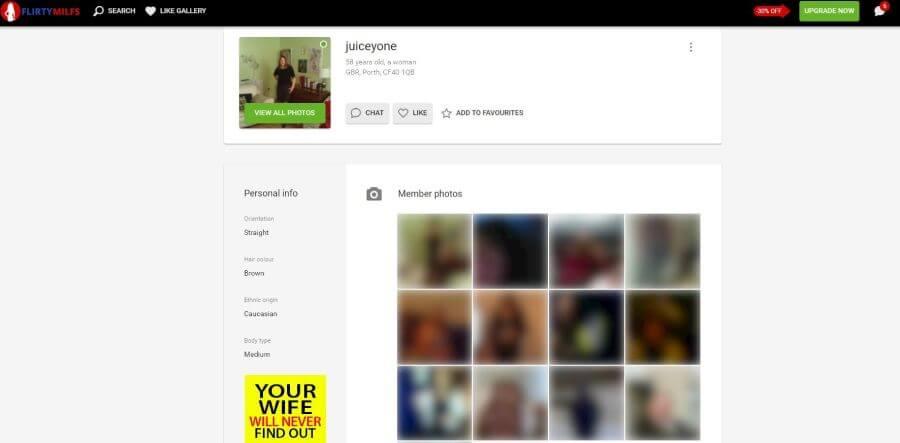 Flirtymilfs profile